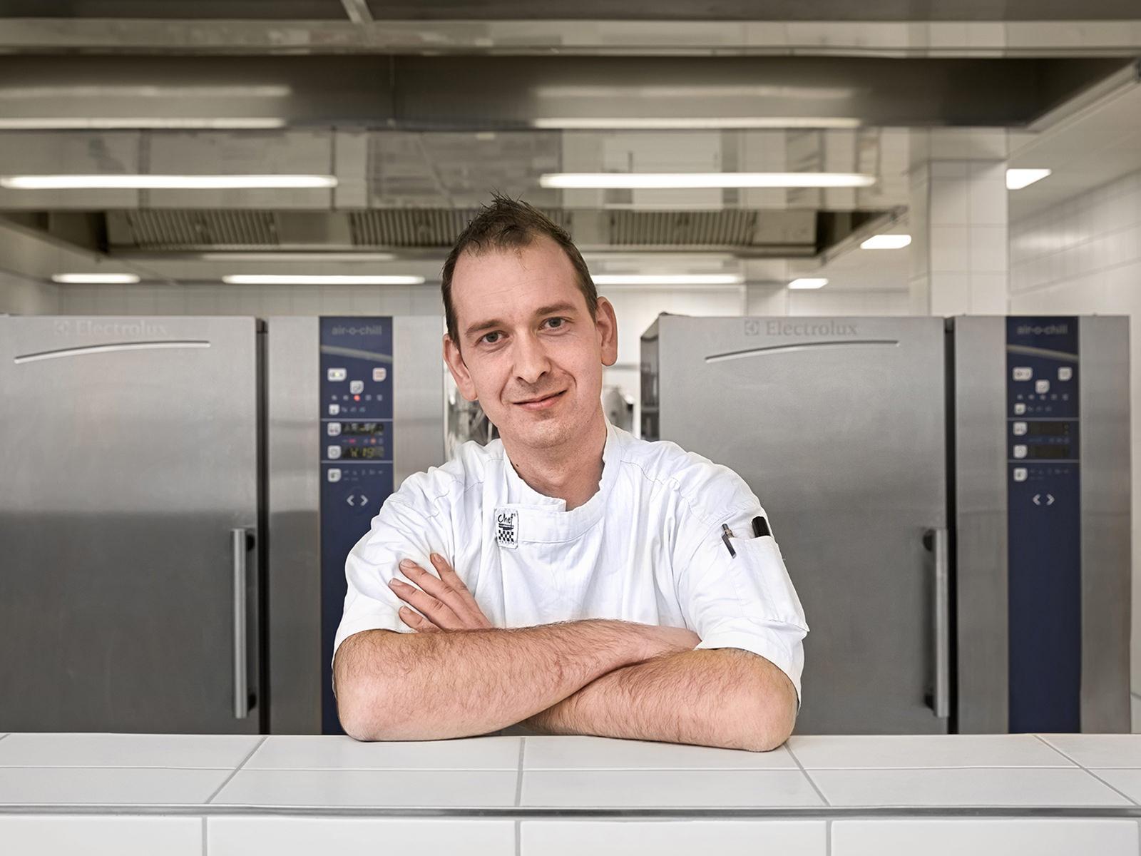 André Kühn, gastronomischer Produktionsleiter im Netzwerk Schauinsland.