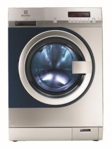 Die myPRO hat eine dreimal so lange Lebenszeit gegenüber einer Haushaltswaschmaschine und wäscht bis zu 50 Prozent schneller. Außerdem stellt sie die Hygiene sicher. Bildquelle: Electrolux Professional